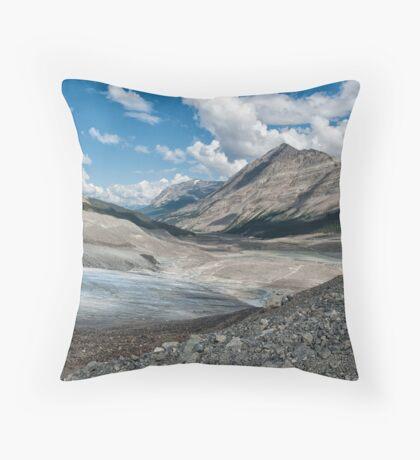 Through the Moraine Throw Pillow