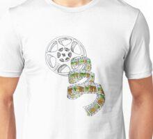 Color Film Strip Unisex T-Shirt