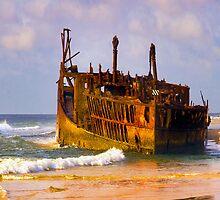 Maheno Wreck Fraser Island by Darren68