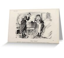 Cartoons by Sir John Tenniel selected from the pages of Punch 1901 0118 Short 'Anded Greeting Card