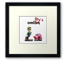 Amiibros Framed Print