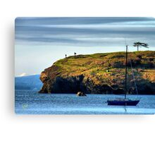 On the Edge of Paradise Canvas Print