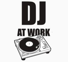 DJ At Work - Turntable One Piece - Long Sleeve