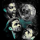 The Mountain Team Free Will Moon - Supernatural Edition by Tracey Gurney