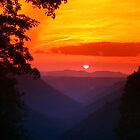 West Virginia Sunset by Don Brogan
