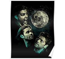 The Mountain Team Free Will Moon - Supernatural Edition Poster