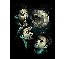 The Mountain Team Free Will Moon - Supernatural Edition Photographic Print