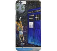 Chell and the Doctor iPhone Case/Skin