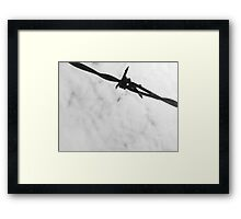 Barbed Wire in the Sky Framed Print