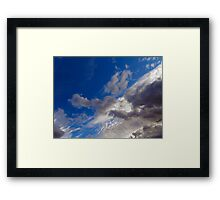 ©HCS In To The Deep Blue IA. Framed Print