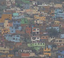 Slums of Lima by Melissa Barry