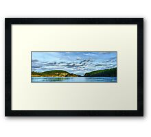 Bridge Panorama Framed Print