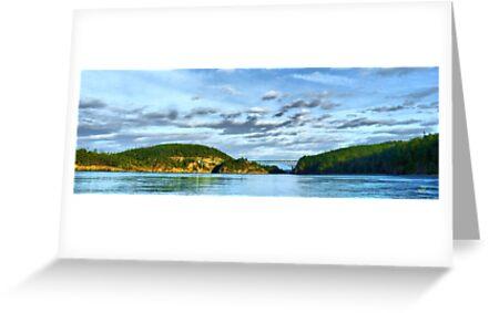 Bridge Panorama by Rick Lawler
