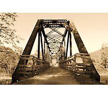 Train Trestle Trail Photographic Print