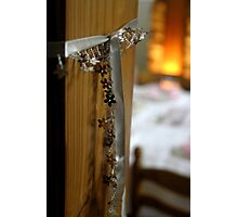 Glowing Glitery Garlands Photographic Print
