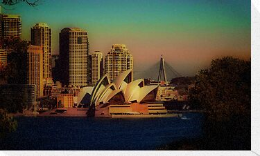 Sydney Opera House at dusk by StarKatz