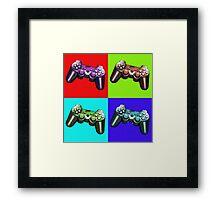 Game Controller Pop Art Framed Print