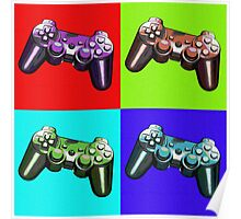 Game Controller Pop Art Poster