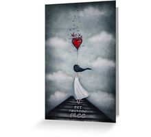 Set yourself free Greeting Card