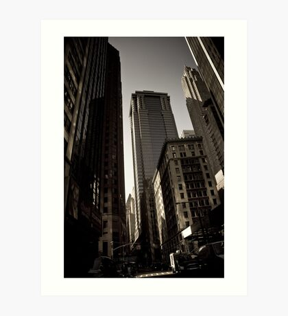 Crosswalk - Financial Square Art Print