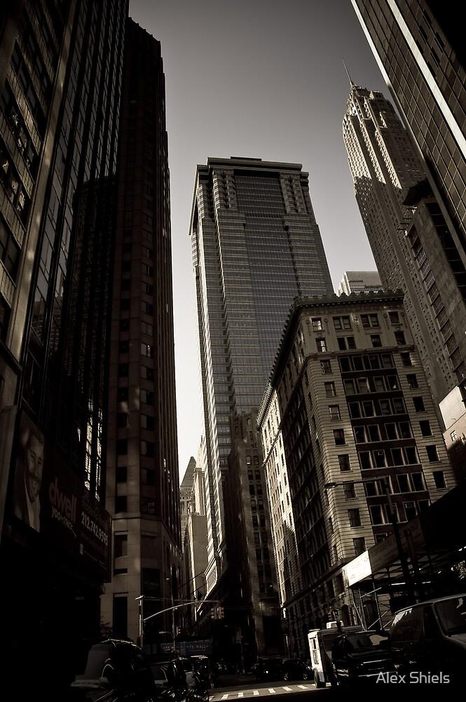 Crosswalk - Financial Square by Alex Shiels