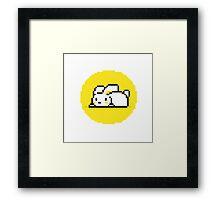Yellow Bunny Framed Print
