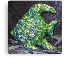 Green Fish, Blue Fish Canvas Print