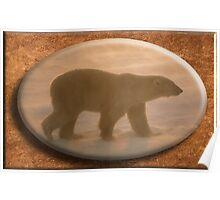 March Polart Bear Poster