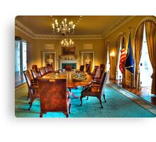 The Cabinet Room Canvas Print