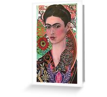 The Woman of Endless Creativity  Greeting Card