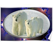 September Polar Bear Poster