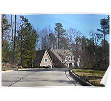 Home Rising North Carolina Poster