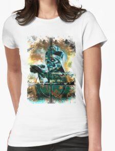 PAPA EVIL EYE LOGO Womens Fitted T-Shirt