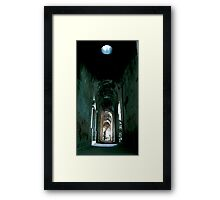 Space in Time Framed Print