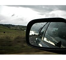 Driving on the opposite side of the road Photographic Print