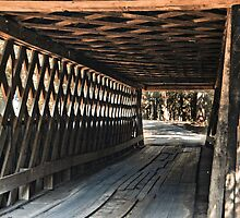 Easley Covered Bridge by Phillip M. Burrow