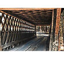 Easley Covered Bridge Photographic Print