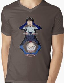 Lonely Hearts Club- Evangelion Mens V-Neck T-Shirt