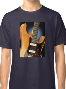 Fender Stratocaster Electric Guitar Natural Classic T-Shirt