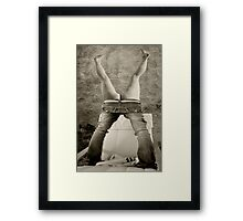 Tight Fitting Jeans Framed Print
