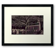 Sleepy Hollow Cemetery Framed Print