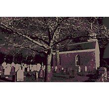 Sleepy Hollow Cemetery Photographic Print