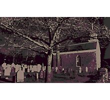 Sleepy Hollow Cemetery Photographic Print