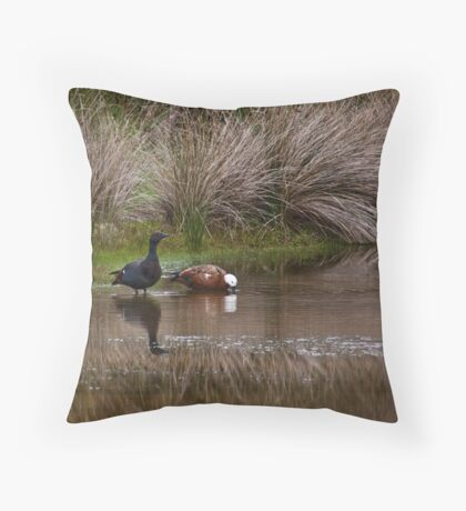 Some water, Duckie? Throw Pillow