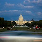 Passing the U.S. Capitol by AmyRalston