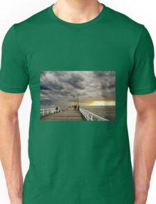 Dusk on St Kilda Pier Unisex T-Shirt