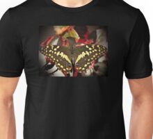 Swallowtail on Acalypha Unisex T-Shirt