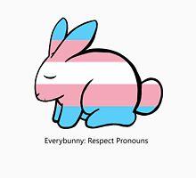 Transgender Flag Bunny Unisex T-Shirt