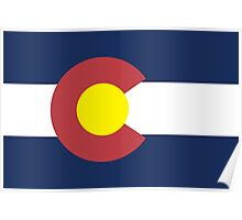 Colorado State Flag, USA Poster
