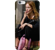 The Smoker iPhone Case/Skin